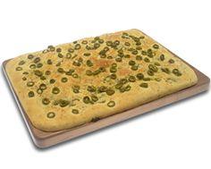 Focaccia alle olive e rosmarino