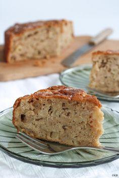 Huis, tuin en keukenvertier: Cake met stukjes appel van Delia Smith