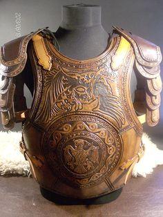 The phoenix bird leather armor on Behance