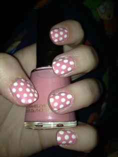 more cute dots! Beauty Make Up, Hair Beauty, Polka Dot Nails, Polka Dots, Salon Business Cards, Beauty Salon Decor, Thanksgiving Nails, Beauty Quotes, More Cute