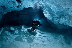 Check out these fantastic underwater photos from the Orda Cave in Russia