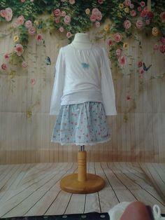 Blue ballet slipper skirt