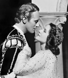 "Leslie Howard, Norma Shearer in ""Romeo & Juliet"" (1936). Director: George Cukor."