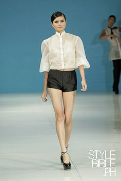 Our top pick from @JC_Buendia's S/S 13 Philippine Fashion Week collection #PhFW