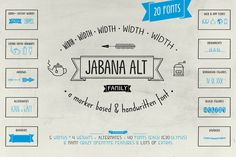 Jabana Alt 75% OFF – Complete Pack by Nils Types on Creative Market