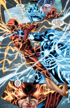 The FLash vs The Blue Flash