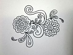 Henna Design II by puellaaeterna, via Flickr