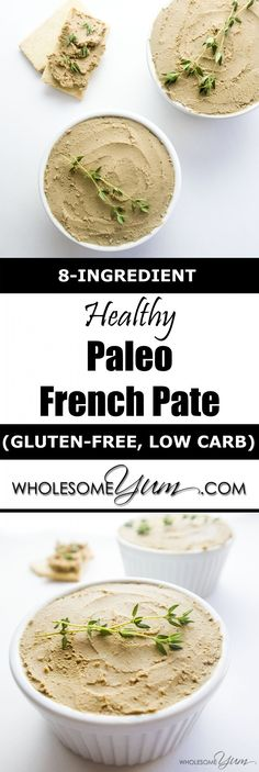 Healthy Paleo French Pate (Low Carb, Gluten-free) | Wholesome Yum - Natural, gluten-free, low carb recipes