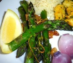 Make and share this Roasted Asparagus With Lemon recipe from Food.com.