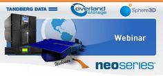 """20 Febbraio 2015 - ore 15.00 - Sphere3D vi invita a partecipare al primo di una lunga serie di Webinar programmati per l'anno 2015!   Presentazione delle soluzioni """"Tape Automation"""": https://attendee.gotowebinar.com/register/6264086333161199362?fb_ref=Default  Quest'oggi verrà illustrato il portafoglio congiunto delle soluzioni tape automation di Overland Storage e Tandberg Data, preceduta da un introduzione al mercato del nastro per l'archiviazione dei dati. Inoltre vi sar�"""