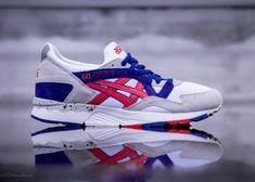 ASICS Gel-Lyte V - White/Red/Purple