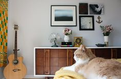 House Tour: Sarah & Brian's Salvaged Stories | Apartment Therapy