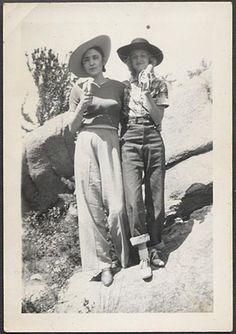 Women wearing pants