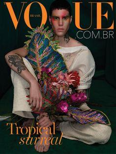 Vogue Covers, Vogue Magazine Covers, Queen Fashion, High Fashion, Vogue Vintage, Cover Boy, Vogue Uk, Photo Journal, Ideias Fashion