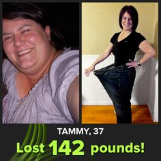 What a rockstar Tammy is!  She lost 142 pounds on my site.