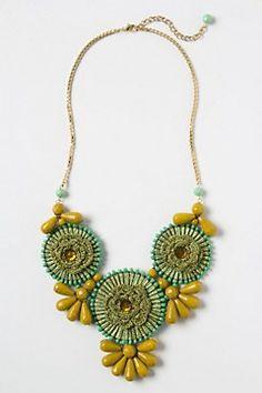 Floraburst Necklace - Anthropologie