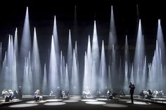 "Gallery of Sou Fujimoto Installs a ""Forest of Light"" for COS at 2016 Salone del…"