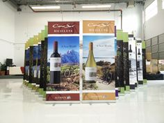 More Authentic Wine Merchant rollup banners. #banners #cmyk #signs #largeformat #printing #vancouver
