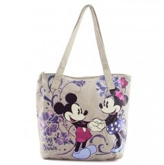 Mickey and Minnie Tote Bag - Would Love this!  LOVE IT!!!!!