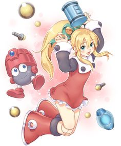 Megaman, Roll, by Toshi