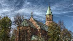 The Church of the Most Sacred Heart of Jesus in  Piaski Wielkie, Kraków, Poland
