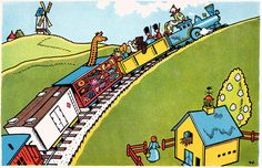 Little Engine That Could, Never Grow Old, College Years, Clash Of Clans, Childhood Memories, Engineering, Illustration, Illustrations, Technology