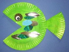 Paper Plate Crafts cute!! Another good one to try w the kids