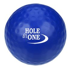 Reduce stress—and their golf score—with this brand-boosting ball.