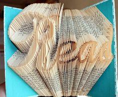 Blog about books, altered books, folded books, book origami, book sculpture, paper crafts, paper art... Tutorials too...