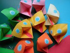 Muppet jellegű origami báb papírból #bábkészítés