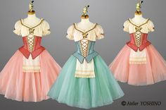 民族衣裳 村娘 Girls Dance Costumes, Tutu Costumes, Ballet Costumes, Dance Outfits, Ballet Poses, Ballet Tutu, Disney Princess Dresses, Princess Costumes, Romantic Dance