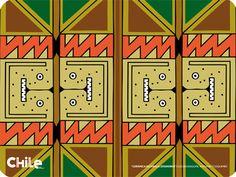 Diaguita Inca Empire, Chile, Ethnic, Tattoo Ideas, Calendar, Graphic Design, Sun, Holiday Decor, Craft