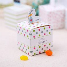 Festive & Party Supplies Steady 10pcs Baby Shower Favor Boxes And Bags Animals Design Candy Box For Girl Boy Kids Birthday Party Gift Candy Box Paper Treat Box