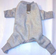 Dog Pajamas Snuggy  jammies Fleece Jogger PJ's clothes by spotNotz