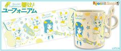 """[Hibike! Euphonium new product] it """"吹部 freshman mug"""" was launched! Handle portion became treble clef specification, it is to 吹部 seems design! """"UFOs"""" goods list is here!http: // Bit.Ly/1CtiuZe #Anime_eupho"""
