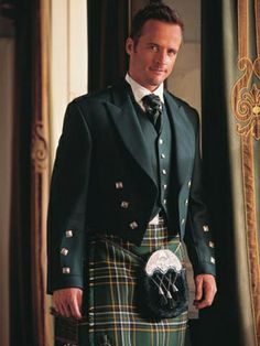 Irish National Kilt Tuxedo.  I so want to do this for my daughter's wedding.