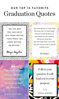 graduation celebration quotes graduation frases graduation frases Here are 10 graduation quotes about loving life, growing up and ing your dreams. Graduation Wishes Quotes, High School Graduation Quotes, Graduation Words, Graduation Message, Inspirational Graduation Quotes, Graduation Speech, 8th Grade Graduation, Graduation Ideas, Graduation Gifts