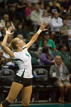 Brittany Hewitt, UH volleyball