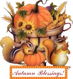 Autumn blessing!