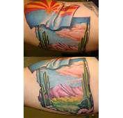 Arizona State Flag Tattoos