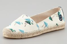 Tory Burch Flamingo Espadrilles I want these!!!