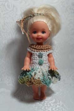 """KELLY Clothes Outfit for 4.5"""" Kelly Doll - #654"""