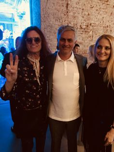 Gab & I with the special one Jose M in Moscow at the Hublot ⁦opening Party 🎉 ⚽ #JoseMourinho #WorldCup