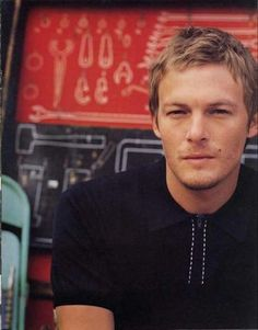 Norman Reedus..(daryl from Walking dead) cleans up nice!