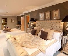 I want my master bedroom to have its own little living room area