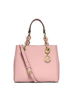 db55f8be2c5848 MICHAEL MICHAEL KORS Michael Michael Kors Cynthia Small North-South Satchel  Bag, Blossom. #michaelmichaelkors #bags #shoulder bags #hand bags #leather  ...