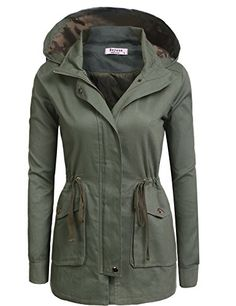 Fashionable and classic It is a must have for a fashion forward outfit! Pair it with our favorite basic t-shirt and legging pants for a casual trendy look.  Practical function BEYOVE Women's Breathable Classic Anorak Jacket is desgined for hiking, climbing, traveling, camping, etc. It is...  More details at https://jackets-lovers.bestselleroutlets.com/ladies-coats-jackets-vests/casual-jackets/product-review-for-beyove-womens-military-anorak-utility-classic-safari-jacke