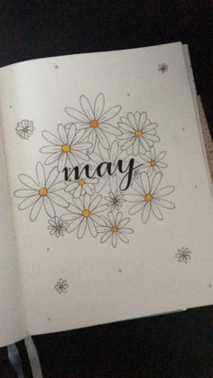 hello may bullet journal mei may bonjour mai balle journal mei mai Bullet Journal School, Bullet Journal Inspo, Bullet Journal Cover Ideas, Bullet Journal Aesthetic, Bullet Journal Notebook, Bullet Journal Spread, Journal Covers, Bullet Journal Title Page, Bellet Journal