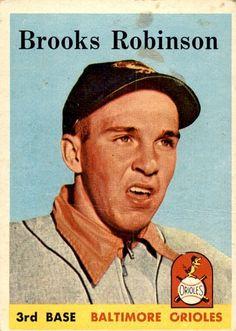 Brooks Robinson 1958 Topps #307