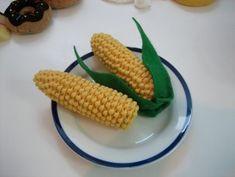 felt food corn. this is genius